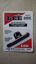 LEE Precision Inc, 30/06 Springfield Case Length Gauge & Shell holder