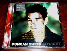 PROMO CD: Duncan Sheik - Daylight / Alt Rock Folk Pop / On a High, Half-Life