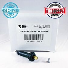 17-20008 Xtra Seal TPMS Valve-Snap-in Valve 31 Inc (10 Pieces per Box) GM