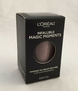 3 Lot L'oreal Infallible Magic Eye Pigments TEMPTRESS 468 Powder To Cream
