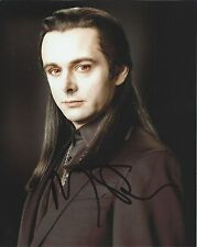 Michael Sheen autograph - signed Twilight photo