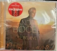 Andrea Bocelli Believe Limited Edition Target Exclusive CD 2 Bonus songs