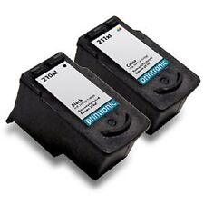 Ink Cartridge for Canon PIXMA iP2702 MX410 MX340 MP240 PG-210XL CL-211XL 2 Pack