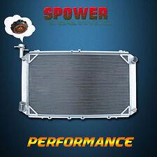 3 ROW For Nissan Patrol GQ Y60 Safari 2.8 4.2 6Cyl Diesel Aluminum Radiator +Cap