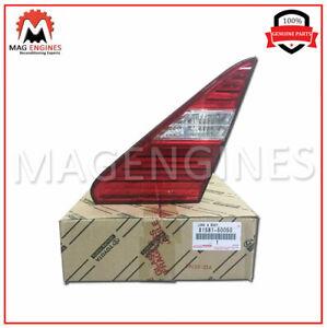 81581-50050 GENUINE OEM (RH) PASSENGER SIDE TAIL LIGHT 8158150050