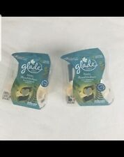 4 Glade WARM FLANNEL EMBRACE Plugins Scented Oil Refill Air Freshener New
