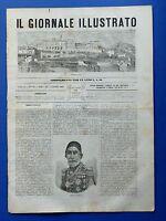 Il giornale illustrato - Terracina - Omer Pascià - Anno II - N° 26 - 1865