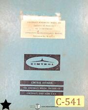 Cimtrol 220 DE Control System Operation Maintenance & Electrical Circuits Manual