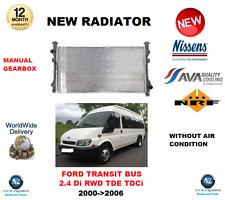 für FORD TRANSIT BUS 2.4 DI RWD TDE TDCI 2000- > 2006 NEU Kühler OE-Qualität