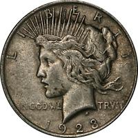 1923-P Peace Dollar Choice VF/XF VAM 1E Broken Wing A Rare One