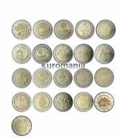Portugal 2 Euros - Todas las Monedas Conmemorativas de 2007 a 2018 disponibles