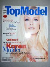 Magazine Revue de mode fashion ELLE TOPMODEL french #13 Karen Mulder