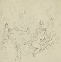 Harold Hope Read (1881-1959) - Pen and Ink Drawing, The Artist's Characters