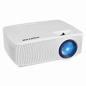 Andyer RD-816 Mini Portable Projector 1800 Lumens LED Mini Home Theater