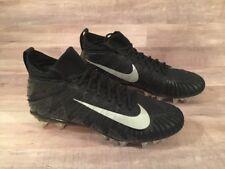 Nike Alpha Menace Elite Football Cleat 871519-001 Men's Size 9.5 Black Silver