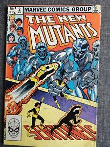 THE NEW MUTANTS 2 MARVEL 1983