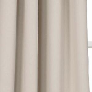 Lush Dcor Insulated Grommet Blackout Curtain Panels Wheat Pair Set 52x84