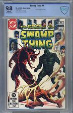 Swamp Thing (1982) #4 CGC 9.8 Yeates, Phantom Stranger Back-Up Story