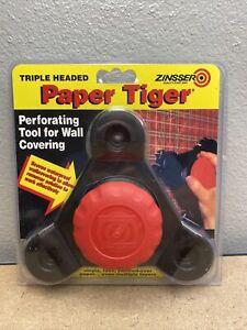 Zinsser Triple: Headed - Paper Tiger Wallpaper Remover Tool, ( NEW )