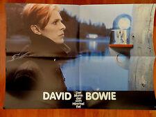 David Bowie DER MANN, DER VOM HIMMEL FIEL Kinoplakat bzw. Aushangfoto *a