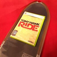 Wii Tony Hawk Ride & Shred Game with Board & manual.