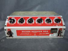 NASA APOLLO Stennis Space Cntr Test Equipment Winslow 336 Decade Resistance Box