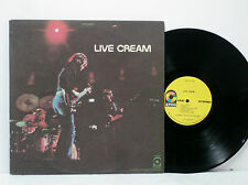 LIVE CREAM ORIG 1970 LP ATCO (Eric Clapton, Jack Bruce, Ginger Baker NEAR MINT