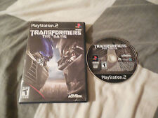 Transformers: The Game  (Sony PlayStation 2, 2007) NO MANUAL