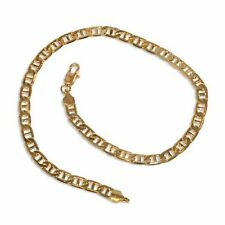 New 9CT Gold Filled Chunky Marine Link Anklet  B119