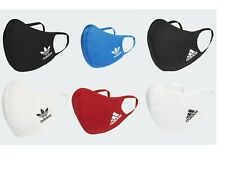 Adidas face mask covers.  Black,blue,white,red. Washable,reusable. Free posting.