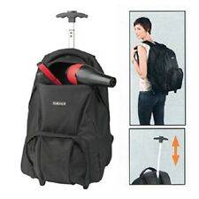 Sibel BACKPACK On Wheels Pull Along Travel Barber Beauty Hairdresser Trolley Bag