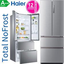 Haier FrenchDoor Side-by-Side NoFrost Kühl-Gefrierkombination Edelstahl-Look A++