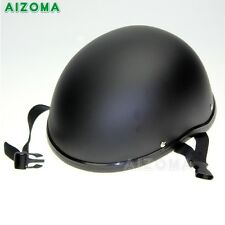 f34fe47a1f0 Motorcycle Novelty Low Profile Motorcycle Style Skull Cap Half Helmet  Universal