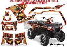 AMR Racing DECORO GRAPHIC KIT ATV POLARIS SPORTSMAN modelli Firestorm B