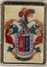 Heraldry PIN metallic del last name : BELTRAN