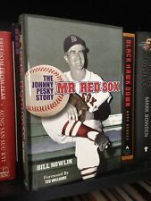 Johnny Pesky signed book Mr. Red Sox by Bill Nowlin