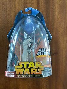 Hasbro Star Wars Revenge of the Sith ROTS Grievous's Bodyguard #8 2005