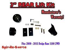 "2009 - 2018 Dodge Ram 1500 3"" REAR Spacer LIFT KIT (2wd ONLY) w/ Panhard Bracket"
