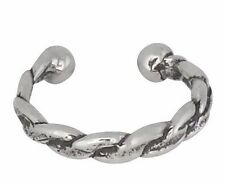 Sterling Silver .925 Ear Cuff Clip Braided Style. Clip-on | Made in USA
