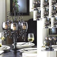 10 Black Candelabra Candle Holder Wedding Centerpieces
