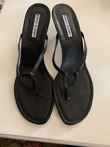 Manolo Blahnik Sandals Size 11M