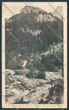 Sondrio Masino Ponte Porcellino cartolina C4508 SZA