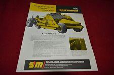 Soil Mover 90E Scraper Dealers Brochure YABE13