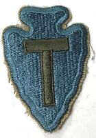 "WWII US 36TH INFANTRY 'TEXAS"" DIVISION SLEEVE PATCH INSIGNIA-WOOL"