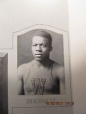 1930 Yearbook Washington High School IN Basketball State Champs & Dave DeJernett