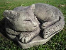Arricciata CAT pietra ornamentale da giardino | molti più oggetti nel mio negozio!