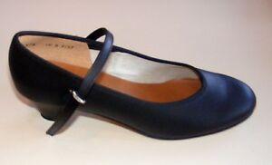 Angelo Luzio 975L Black Women's Size 10.5B ( fits size 10M) Character Shoe
