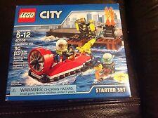 Lego City Fire Starter Set 60106 Brand New Factory Sealed Boat Nip