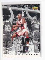 1992-93 Upper Deck Team MVP Michael Jordan #TM5 HOF