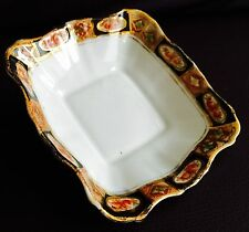 Rare Antique Art Deco 1920s Royal Albert Crown China Imari Pattern 4004 Pin Dish